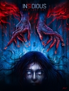 Insidious: The Last Key - DVD cover (xs thumbnail)