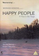Happy People: A Year in the Taiga - British DVD cover (xs thumbnail)