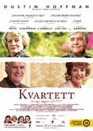 Quartet - Hungarian Movie Poster (xs thumbnail)