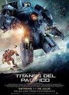 Pacific Rim - Argentinian Movie Poster (xs thumbnail)