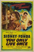You Only Live Once - Re-release movie poster (xs thumbnail)
