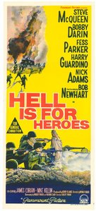 Hell Is for Heroes - Australian Movie Poster (xs thumbnail)