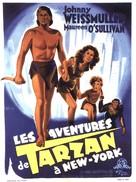 Tarzan's New York Adventure - French Movie Poster (xs thumbnail)