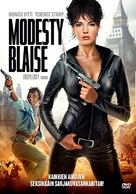 Modesty Blaise - Finnish Movie Cover (xs thumbnail)