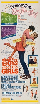 When the Boys Meet the Girls - Movie Poster (xs thumbnail)