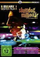 Slumdog Millionaire - German DVD cover (xs thumbnail)
