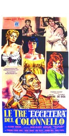 Trois etc. du colonel, Les - Italian Movie Poster (xs thumbnail)