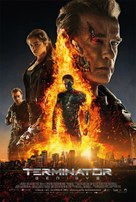 Terminator Genisys - Danish Movie Poster (xs thumbnail)