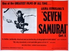 Shichinin no samurai - British Movie Poster (xs thumbnail)