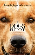 A Dog's Purpose - Lebanese Movie Poster (xs thumbnail)