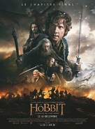 The Hobbit: The Battle of the Five Armies - French Movie Poster (xs thumbnail)