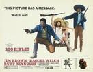 100 Rifles - Movie Poster (xs thumbnail)