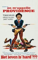 La vita, a volte, è molto dura, vero Provvidenza? - Belgian Movie Poster (xs thumbnail)