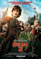 How to Train Your Dragon 2 - Andorran Movie Poster (xs thumbnail)
