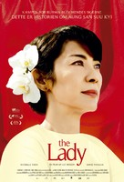 The Lady - Danish Movie Poster (xs thumbnail)