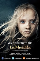 Les Misérables - Philippine Movie Poster (xs thumbnail)
