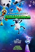 Shaun the Sheep Movie: Farmageddon - British Movie Poster (xs thumbnail)