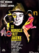 Monocle rit jaune, Le - French Movie Poster (xs thumbnail)