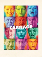Carnage - French Movie Poster (xs thumbnail)
