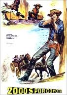 Dos mil dólares por Coyote - Spanish Movie Poster (xs thumbnail)