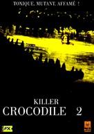 Killer Crocodile II - French DVD cover (xs thumbnail)
