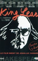 King Lear - French Movie Poster (xs thumbnail)