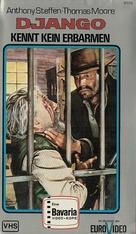 Pochi dollari per Django - German VHS cover (xs thumbnail)