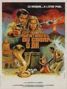 Cacciatori del cobra d'oro, I - French Movie Poster (xs thumbnail)