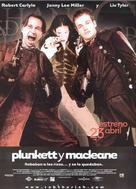Plunkett & Macleane - Spanish Movie Poster (xs thumbnail)