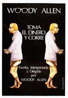 Take the Money and Run - Spanish Movie Poster (xs thumbnail)