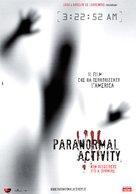 Paranormal Activity - Italian Movie Poster (xs thumbnail)