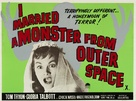 I Married a Monster from Outer Space - British Movie Poster (xs thumbnail)