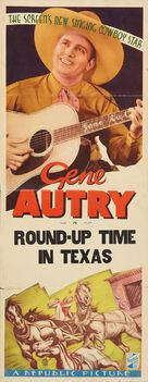 Round-Up Time in Texas - Movie Poster (xs thumbnail)