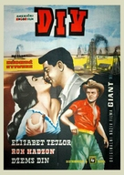 Giant - Yugoslav Movie Poster (xs thumbnail)