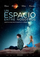 The Space Between Us - Spanish Movie Poster (xs thumbnail)
