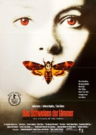 The Silence Of The Lambs - German Movie Poster (xs thumbnail)