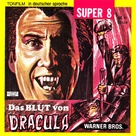 Taste the Blood of Dracula - German Movie Cover (xs thumbnail)