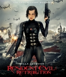 Resident Evil: Retribution - German Blu-Ray cover (xs thumbnail)