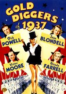 Gold Diggers of 1937 - DVD cover (xs thumbnail)