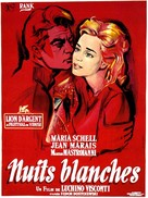 Notti bianche, Le - French Movie Poster (xs thumbnail)