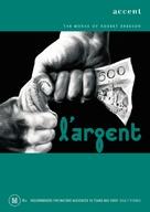 Argent, L' - Australian DVD cover (xs thumbnail)