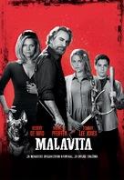 The Family - Slovenian Movie Poster (xs thumbnail)