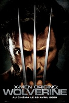 X-Men Origins: Wolverine - French Movie Poster (xs thumbnail)
