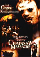 The Texas Chain Saw Massacre - German DVD movie cover (xs thumbnail)