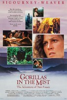 Gorillas in the Mist: The Story of Dian Fossey - Movie Poster (xs thumbnail)