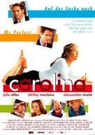 Carolina - German Movie Poster (xs thumbnail)