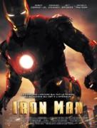 Iron Man - French Movie Poster (xs thumbnail)