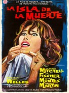 Isla de la muerte, La - Spanish Movie Poster (xs thumbnail)