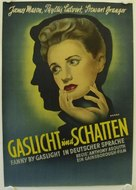 Fanny by Gaslight - German Movie Poster (xs thumbnail)