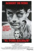 Raging Bull - Puerto Rican Movie Poster (xs thumbnail)